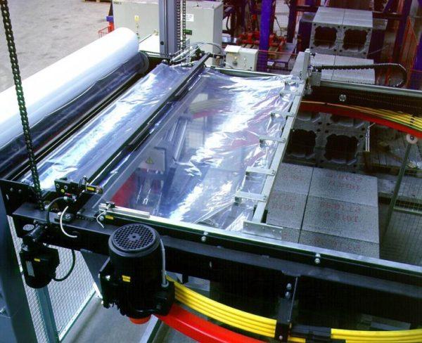 Автоматическая упаковочная машина OBS Rotomatic (палетообмотчик)
