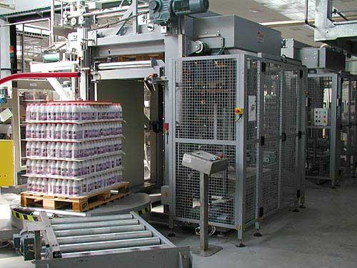 Паллетизатор P-711 для групповой упаковки
